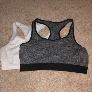 set of 2 sports bras